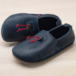 pololo-nos-barfuss-strassenschuh-cordel-tpr-sohle-kordelstopper-blau-seitlich