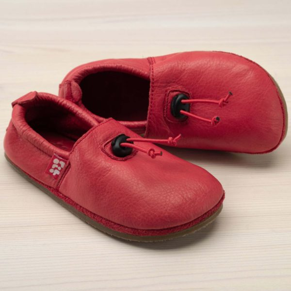 pololo-nos-barfuss-strassenschuh-cordel-tpr-sohle-kordelstopper-rot-seitlich