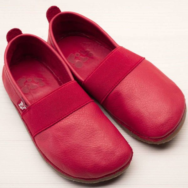 pololo-nos-barfuss-strassenschuh-elastico-tpr-sohle-rot-frontal